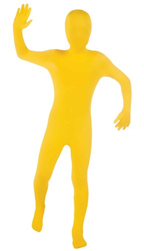 Yellow 2nd Skin Suit Kids Costume -