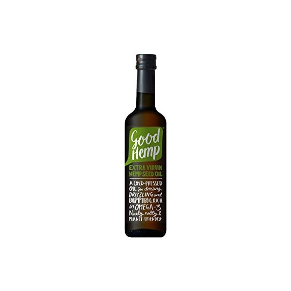 Good Hemp Extra Virgin Hemp Seed Oil, 500 ml