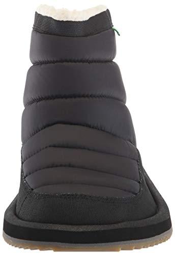 09 Puff Ankle Chill Women's Boot Sanuk M N Black Us wIqvx50