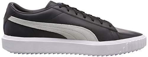 Breaker Sneakers puma indigo Noir puma Mixte Black White Adulte Bunting Lth Puma Basses SwTqSdE
