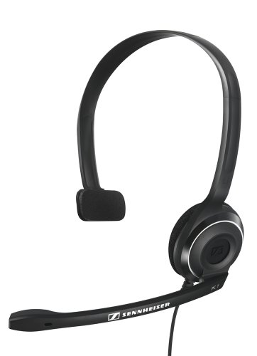 - Sennheiser PC 7 USB - Mono USB Headset for PC and MAC