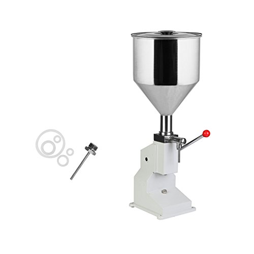 VEVOR Bottle Filling Machine 5-50ml Liquid Filling Machine Stainless Steel Filling Machine for Cream Shampoo Cosmetic Bottler Filler (5-50mL Manual Filling) from VEVOR