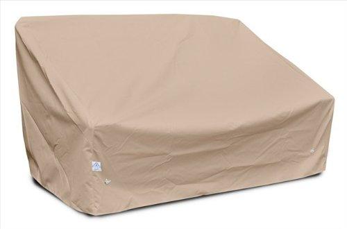 KoverRoos 46350 Deep 2-Seat Sofa Cover, Choose Fabric Color: 4: Toast