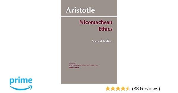 Amazon com: Nicomachean Ethics (9780872204645): Aristotle