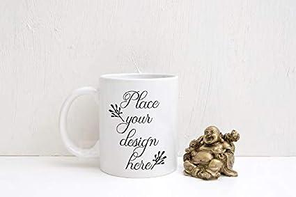 873b6956eb5 Amazon.com: Coffee Mug Mock up White Mug Mockup Coffee Mug Mockup ...