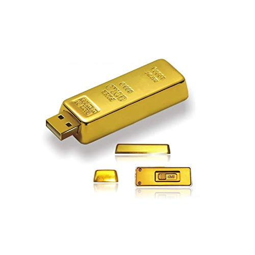 Luxury Gift USB 2.0 Gold Bar USB Flash Drive 32 GB (Pack of 10) from Unknown