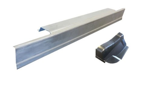 Motor City Sheet Metal - Works With 1997-2003 FORD F-150 STANDARD CAB ROCKER PANEL AND CAB CORNER DRIVER SIDE