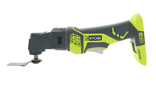 Multi Cutter Saw (Ryobi RMT1801M One+ 18V Lithium Ion JobPlus Cordless Multi Tool with 3 Attachment Heads)