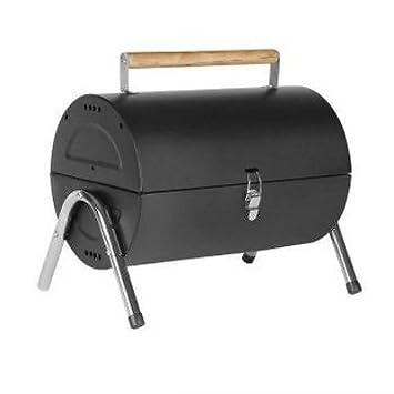 Generic - Barril portátil de acero para barbacoa, barbacoa, barbacoa, jardín, camping