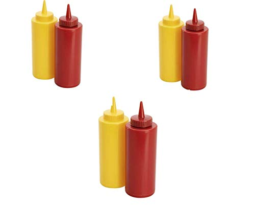 Ketchup And Mustard - Ketchup & Mustard Dispenser Set, 3