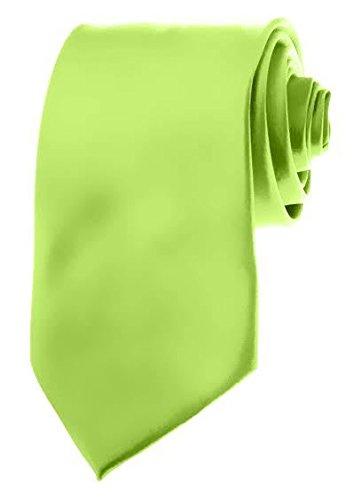 Mens Necktie Solid Color Royal Blue Ties