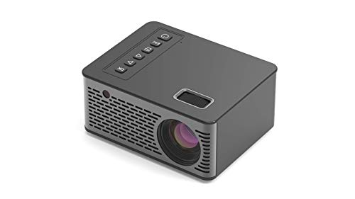 Bestlife U26 Short Throw Projector 4k 1080P AV/USB/TF/HDMI/5V-2A Portable LCD LED Beam Projector for 16:9/4:3 Screen Mini HD Projector for Indoor/Outdoor