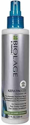 BIOLAGE Advanced Keratindose Pro-Keratin Renewal Spray For Overprocessed Damaged Hair, 6.8 Fl. Oz.