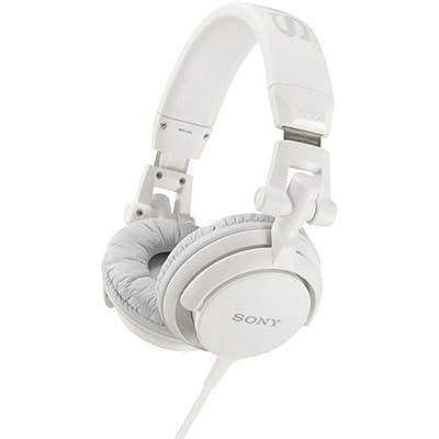 SONY MDRV55/WHI DJ-Style Headphones (White)