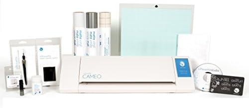 Silhouette Cameo II con grabado de cristal crema, 2 Full ...