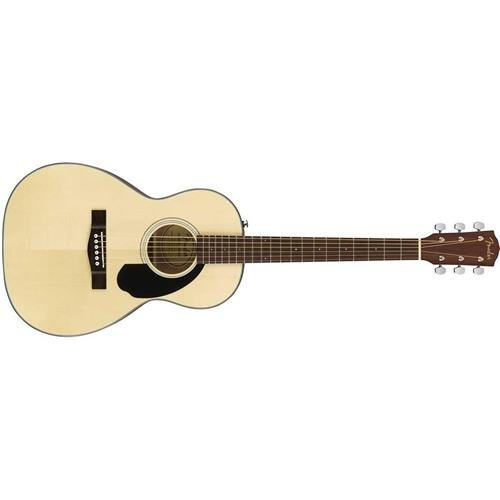 Handed Acoustic Guitar - Parlor Body - Natural ()