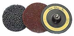 Eastwood 1/2 in. Cleaning & Stripping Quick Change Disc Surface Conditioning Remove Paint & Rust Hole Strip Abrasive Stripping Disc With 5/8 n. X 11 in. Cushioned Backing Pad