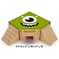 Penn Plax MU20 Small Animal Monsters University Cozy Co-Op Play House