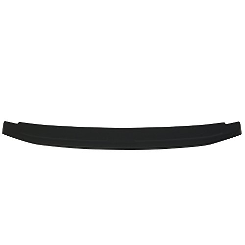 Trunk Spoiler Compatible With 2010-2014 Ford Mustang   Factory Style ABS Unpainted Black Flush Mount Trunk Boot Lip Spoiler Wing Deck Lid Other Color Available By IKON MOTORSPORTS   2011 2012 2013