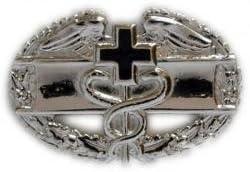 Army Combat Medical Badge 1st Award Black Finish Regulation Size