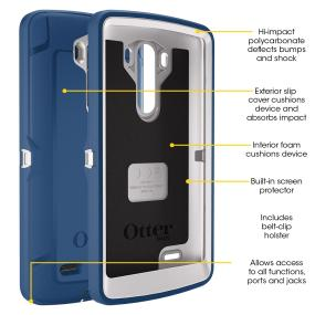OtterBox Defender Series for LG G3 Features