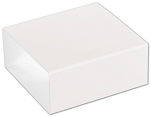 Food & Gourmet Boxes - White 4-Truffle Confectionery Sleeves (100 Sleeves) - BOWS-SLEVE-4WH -  Miller Supply Inc., DFS-1144
