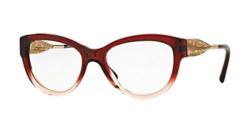 BURBERRY Eyeglasses BE 2210F 3553 Bordeaux Gradient Pink - Burberry Glasses Sport