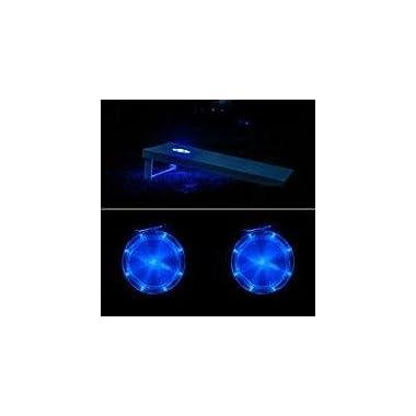Cornhole Night Light (Set of 2) Color: Blue