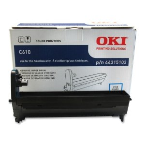 - Genuine Okidata 44315103 Cyan Drum Unit