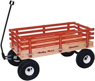 product image for Saving Shepherd Heavy Duty Pull Wagon with Easy Roll Air Tires (Red)