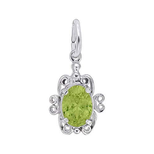 Rembrandt Charms Sterling Silver August Birthstone ()