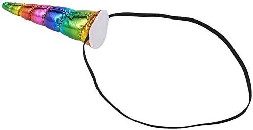 Unicorn Horn 12 Pack Rainbow Headband for Theme Parties Cosplay Costume Festival
