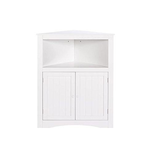RiverRidge Kids 02-140 2-Door Corner Cabinet - White by RiverRidge Kids