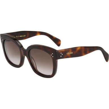 Celine 41805/S 05LHA Tortoise New Audrey Cats Eyes Sunglasses Lens Category 3 - Sunglass Lens Category