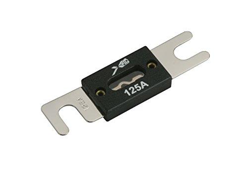 - Scosche X2WF125 125 AMP ANL Fuse (1 Per Pack)
