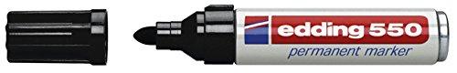 Edding 550 permanent schwarz 3-4mm Rundspitze