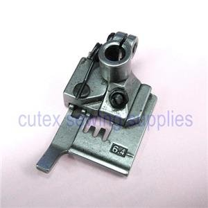"CUTEX SEWING Binder Presser Foot For Industrial Coverstitch Machines, 3-Needles, 6.4MM (1/4"")"