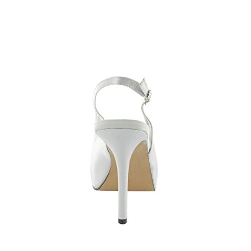 LEXUS - Sandalias de vestir para mujer Plata - Light Grey/Silver