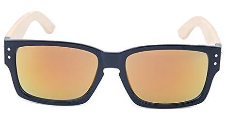 ac117dd8a12c00 5 ALL Mode Pellicule Couleur Lunettes de Soleil pour Homme Femme Unisexe  Lunettes pour Nerd Style Wayfarer Vintage (MC5)  Amazon.fr  Vêtements et ...