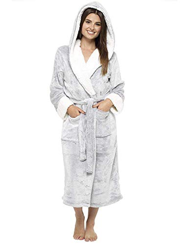 d13b3dbcbf4db CityComfort Luxury Ladies Dressing Gown Soft Plush Bath Robe for Women  Housecoat Loungewear Bathrobe - Buy Online in UAE. | Clothing Products in  the UAE ...
