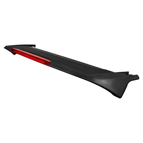 For [Paintable Factory Style] 2007-2011 Honda CRV CR-V Rear Trunk Lip Spoiler Wing W/LED Brake Light