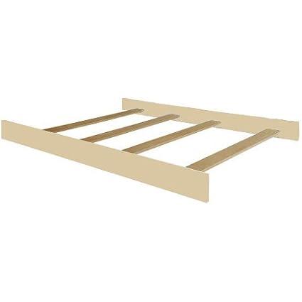 Full Size Conversion Kit Bed Rails for Munire Savannah Crib - Linen White Crib Conversion Kits 3170-LW