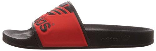1 Adilette Originals rot core Chaussures Plage core amp; Trefoil Schwarz Noir Adulte Adidas 39 Mixte Piscine 3 Schwarz Mehrfarbig De CUSxdg5