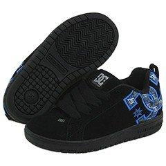 dc-shoes-girls-dc-shoes-court-graffik-se-low-shoes-kids-us-10-black-carbon-battleship-ro-us-10-uk-9-