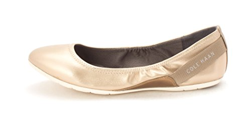 Closed Faded Toe Gold Womens Ballet Haan Vernasam Cole Flats tf1qx