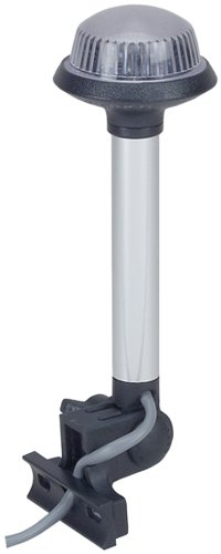 Glare Perko Reduced Design (Perko 1607DP0CHR White Marine All-Round Pole Light)