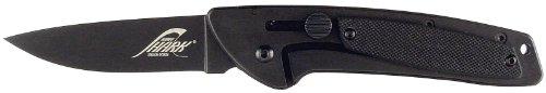 RUKO G10 3-Inch Blade Folding Knife with Plain Edge Shark Lever Action Handle (Handle Lever Plain)