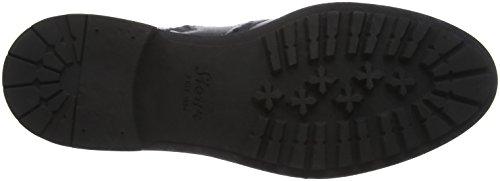Sioux Outsider-001, Zapatillas de Estar por Casa para Hombre Negro - negro