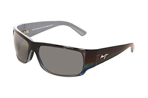 Maui Jim Sunglasses | Mens | World Cup 266 | Wrap Frame, Polarized Lenses, with Patented PolarizedPlus2 Lens Technology