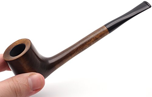 Mr. Brog Canadian Tobacco Pipe - Model No: 305 Vancouver Walnut - Pear Wood Roots - Hand Made